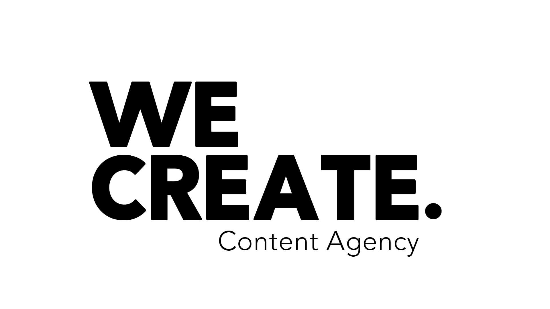 We create content agency